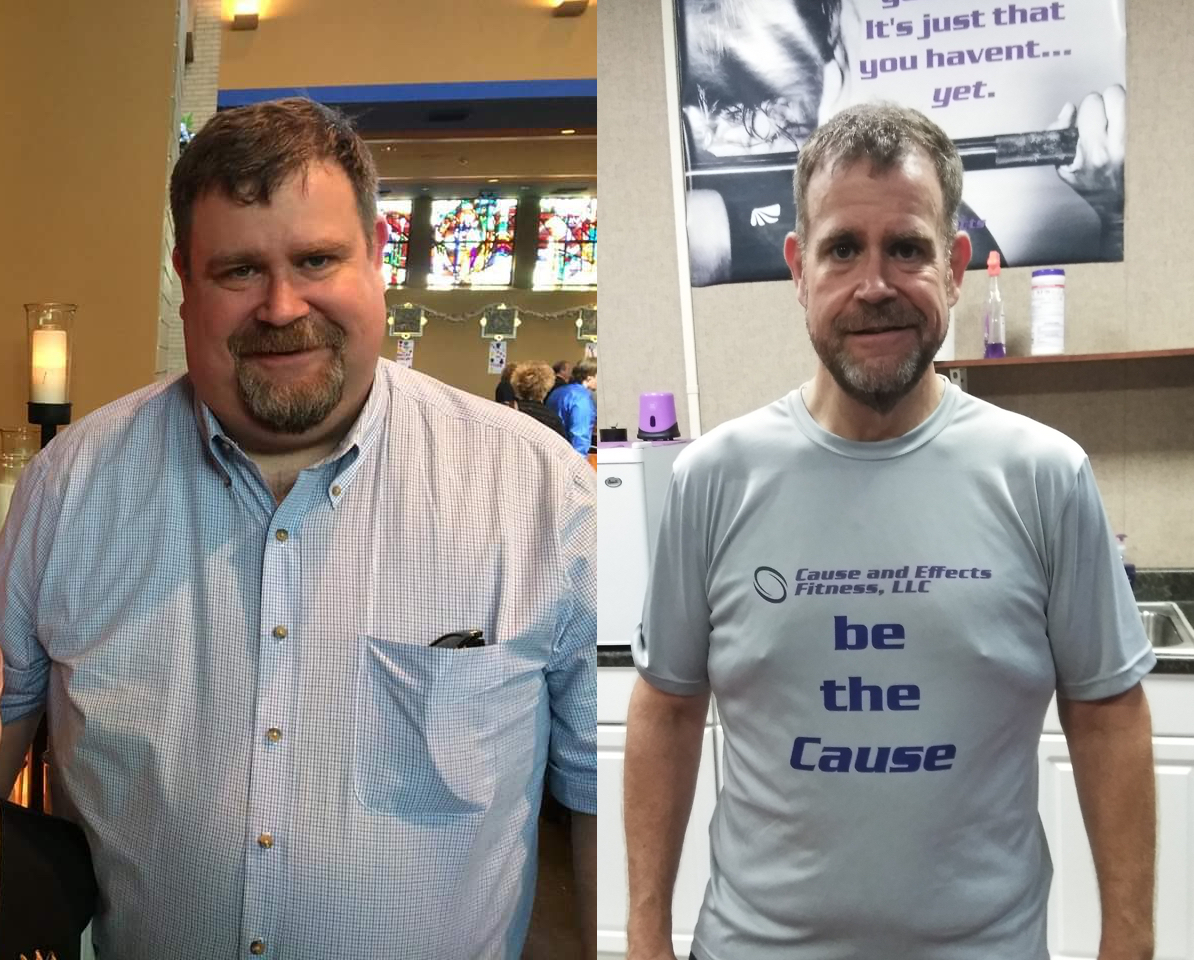 Personal Training Client Lane Before and After