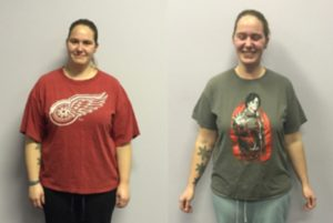 Personal Training and Nutrition Coaching Client Ashley Progress Photo