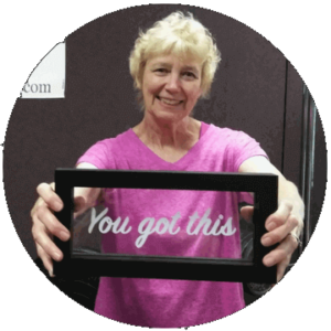 """Lancaster, PA personal training and nutrition coaching client Miriam """"You Got This"""""""