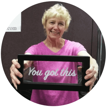 Personal Training and Nutrition Coaching Client Miriam - You Got This